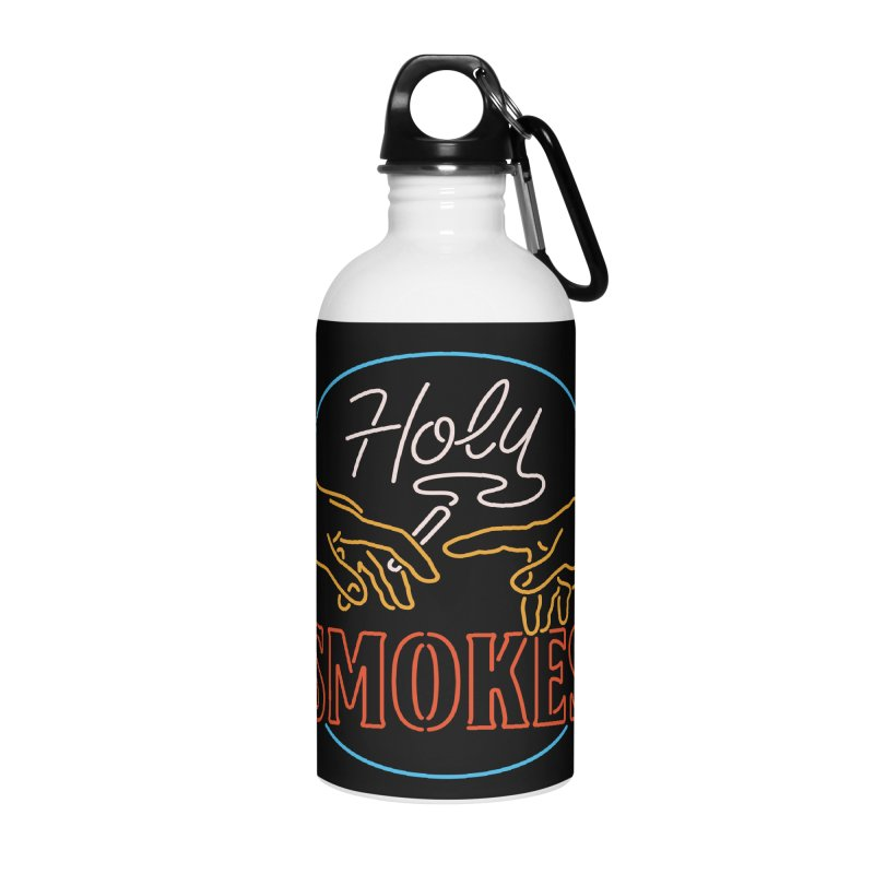 Holy Smokes III Accessories Water Bottle by csw