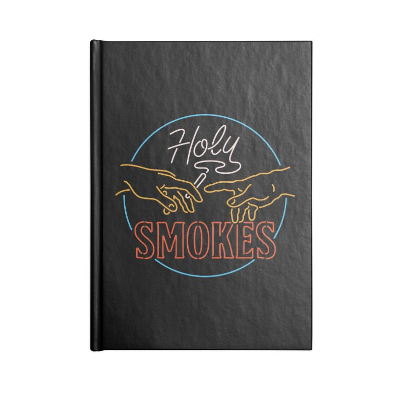 Holy Smokes III Accessories Notebook by csw