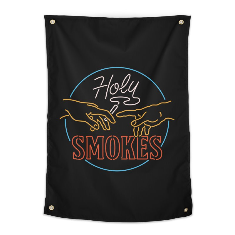 Holy Smokes III Home Tapestry by csw