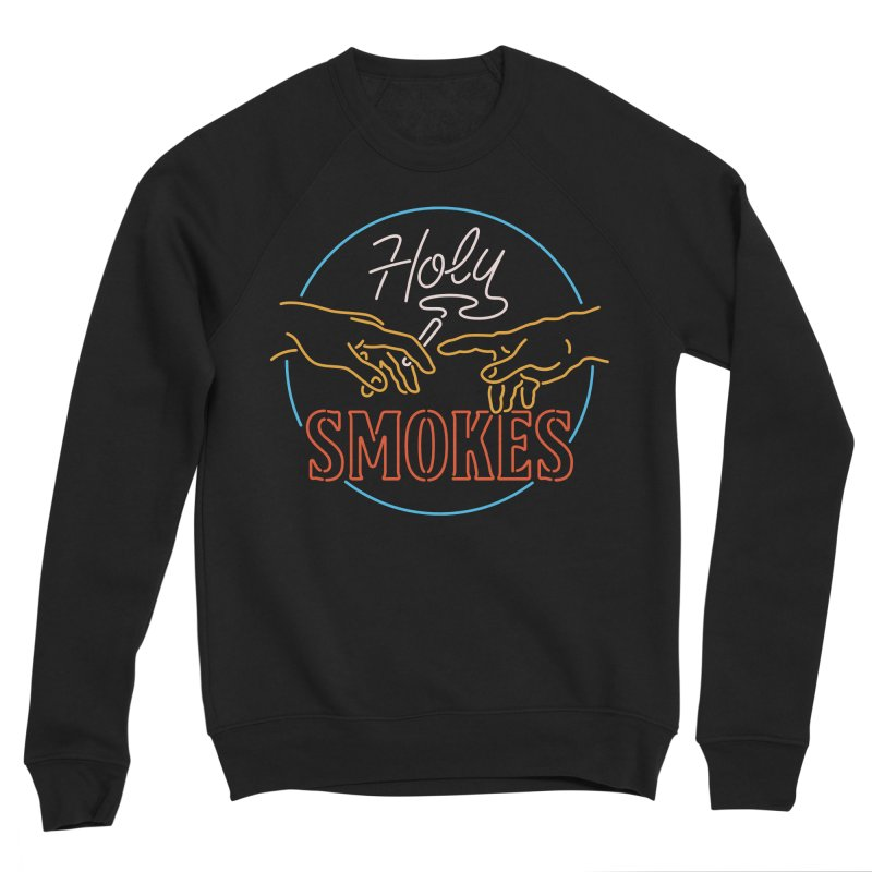 Holy Smokes III Men's Sponge Fleece Sweatshirt by csw