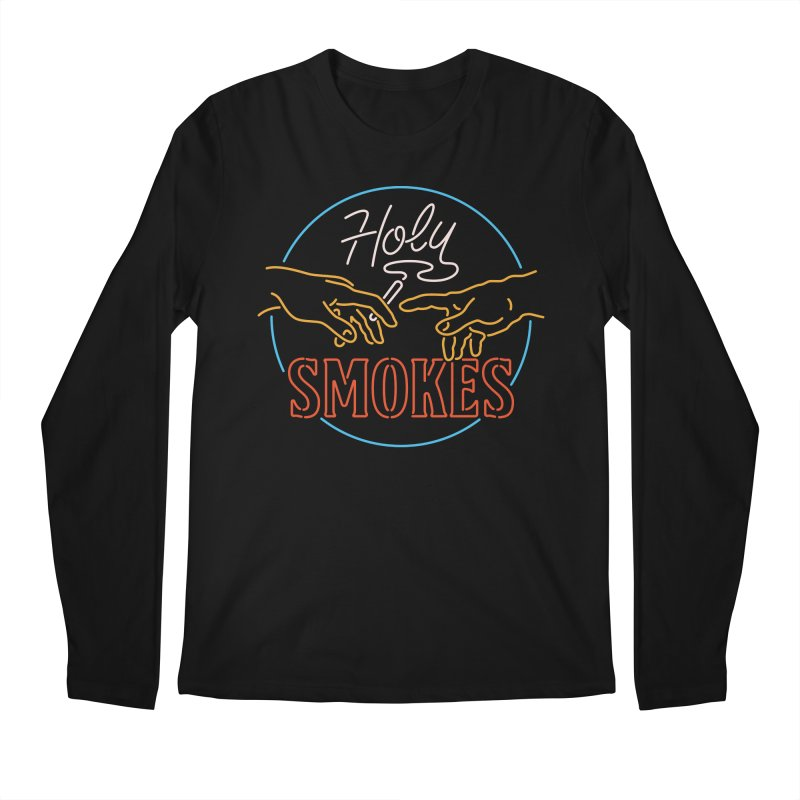 Holy Smokes III Men's Regular Longsleeve T-Shirt by csw
