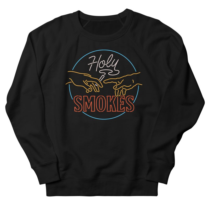 Holy Smokes III Men's French Terry Sweatshirt by csw
