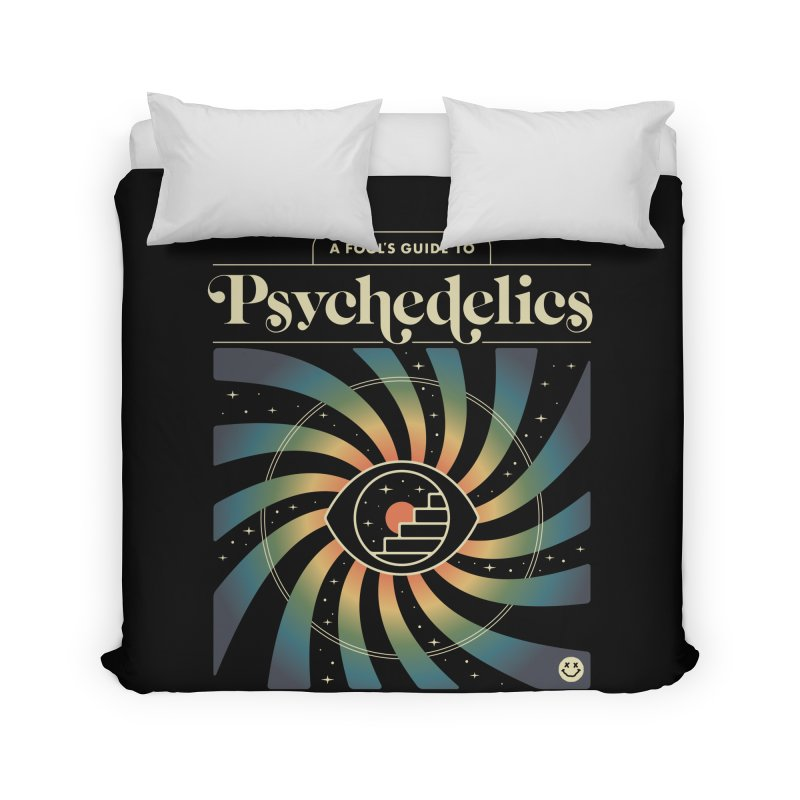 A Fool's Guide to Psychedelics Home Duvet by csw