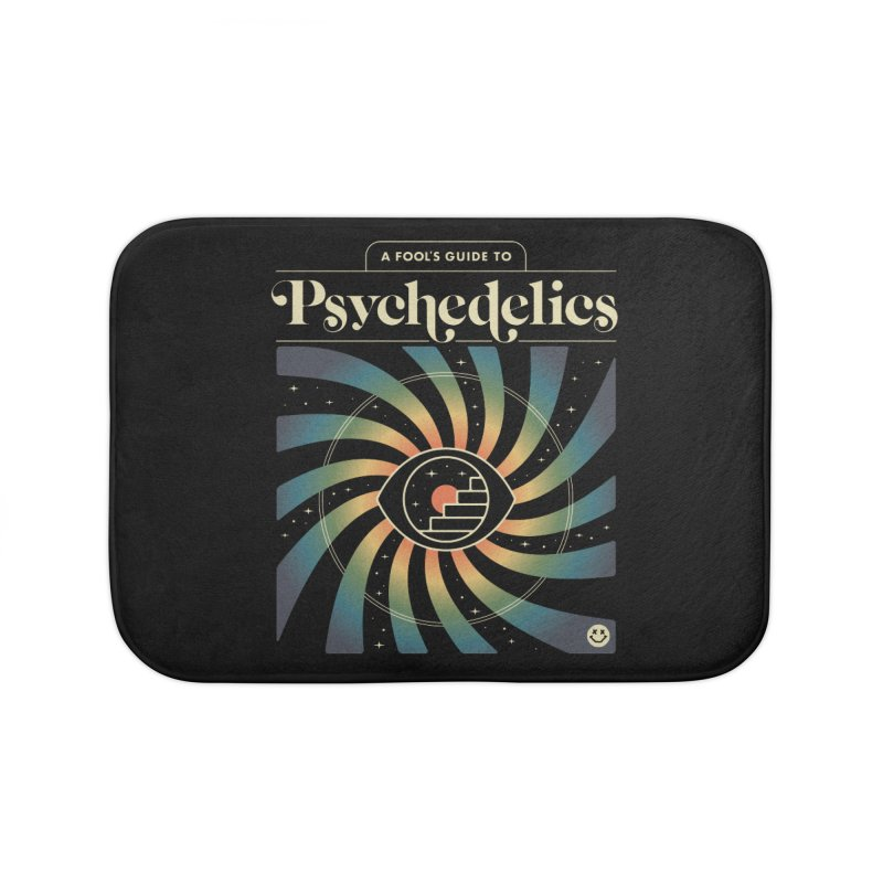 A Fool's Guide to Psychedelics Home Bath Mat by csw