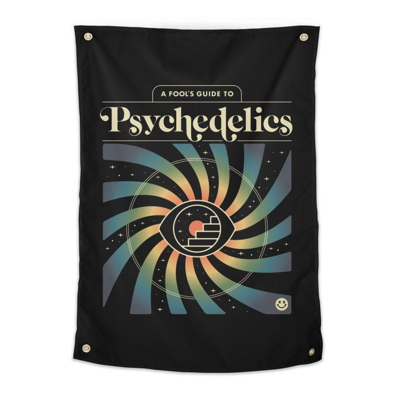 A Fool's Guide to Psychedelics Home Tapestry by csw