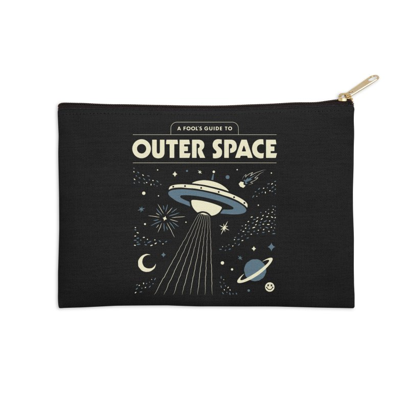 A Fool's Guide to Outer Space Accessories Zip Pouch by csw