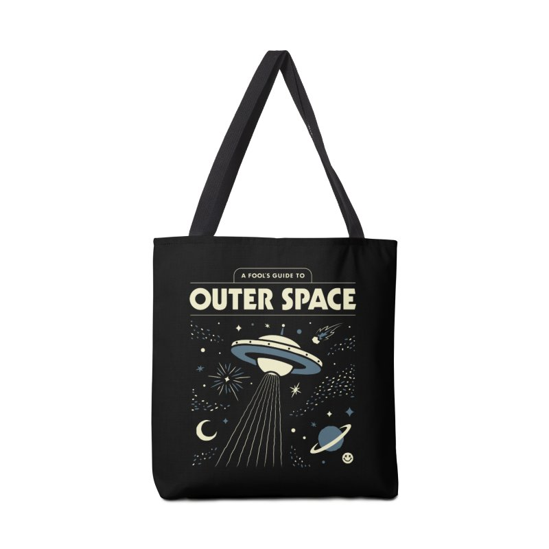 A Fool's Guide to Outer Space Accessories Bag by csw