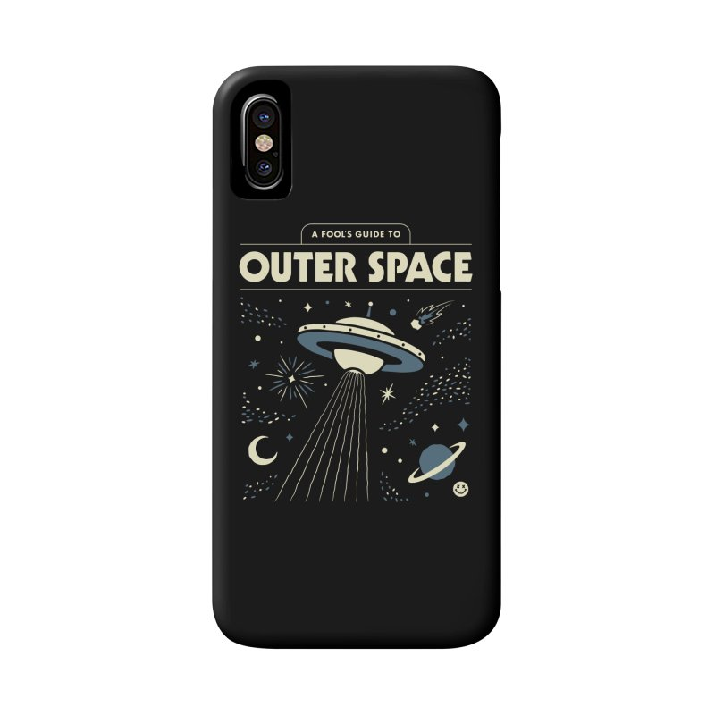 A Fool's Guide to Outer Space Accessories Phone Case by csw