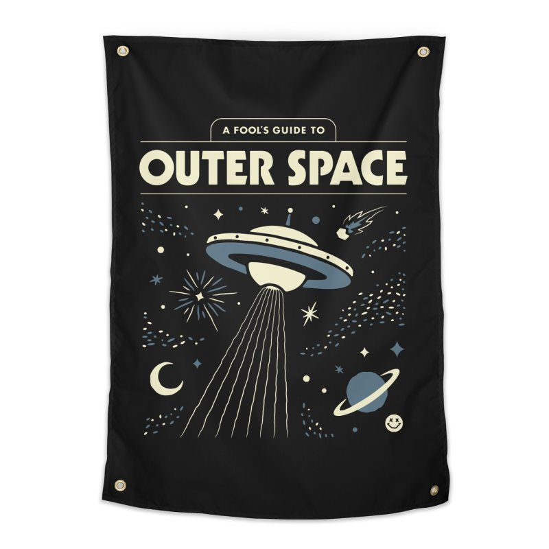 A Fool's Guide to Outer Space Home Tapestry by csw