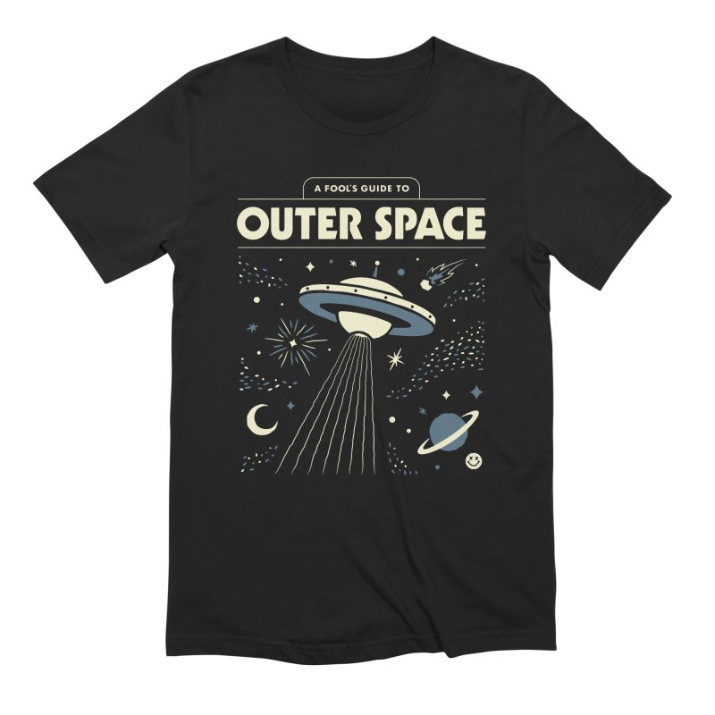 A Fool's Guide to Outer Space Men's T-Shirt by Cody Weiler