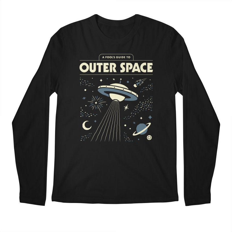 A Fool's Guide to Outer Space Men's Longsleeve T-Shirt by Cody Weiler