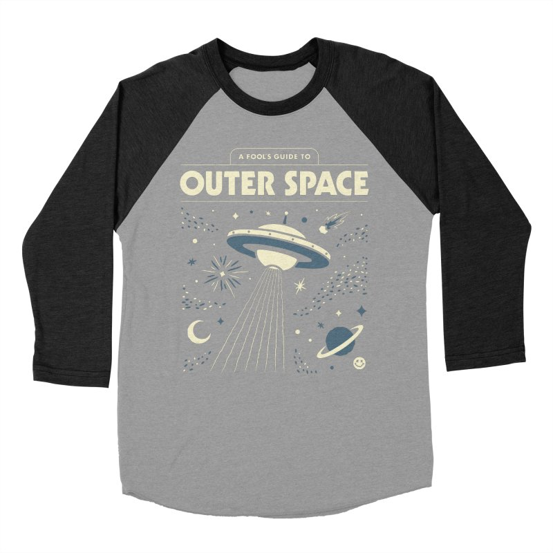 A Fool's Guide to Outer Space Women's Baseball Triblend Longsleeve T-Shirt by csw