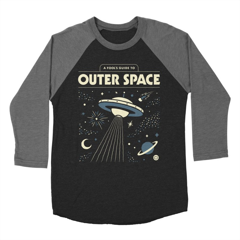 A Fool's Guide to Outer Space Men's Baseball Triblend Longsleeve T-Shirt by csw