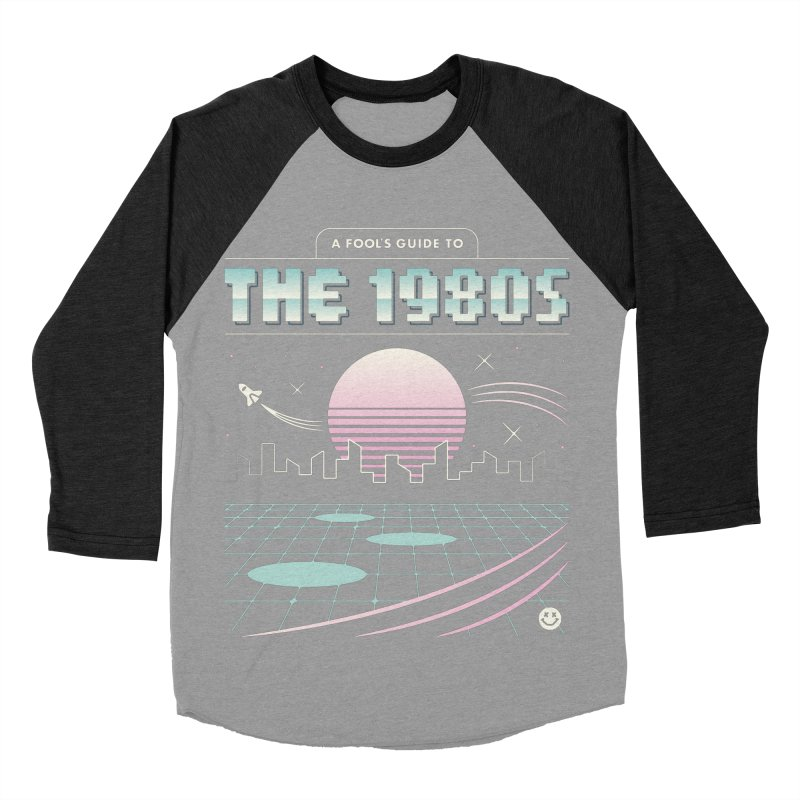 A Fool's Guide to the 1980s Men's Baseball Triblend Longsleeve T-Shirt by csw