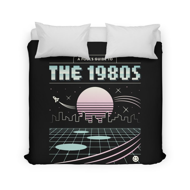 A Fool's Guide to the 1980s Home Duvet by csw