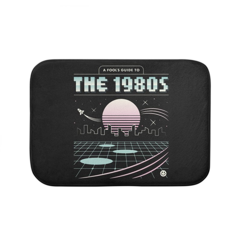 A Fool's Guide to the 1980s Home Bath Mat by csw