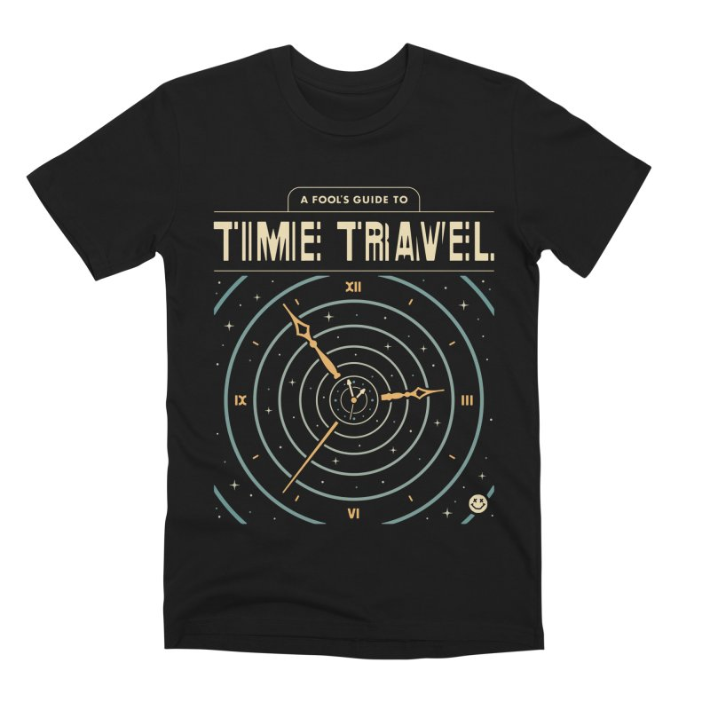 A Fool's Guide to Time Travel Men's Premium T-Shirt by csw