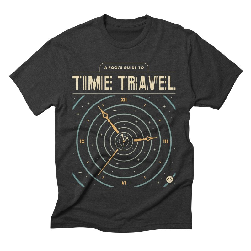 A Fool's Guide to Time Travel Men's Triblend T-Shirt by csw