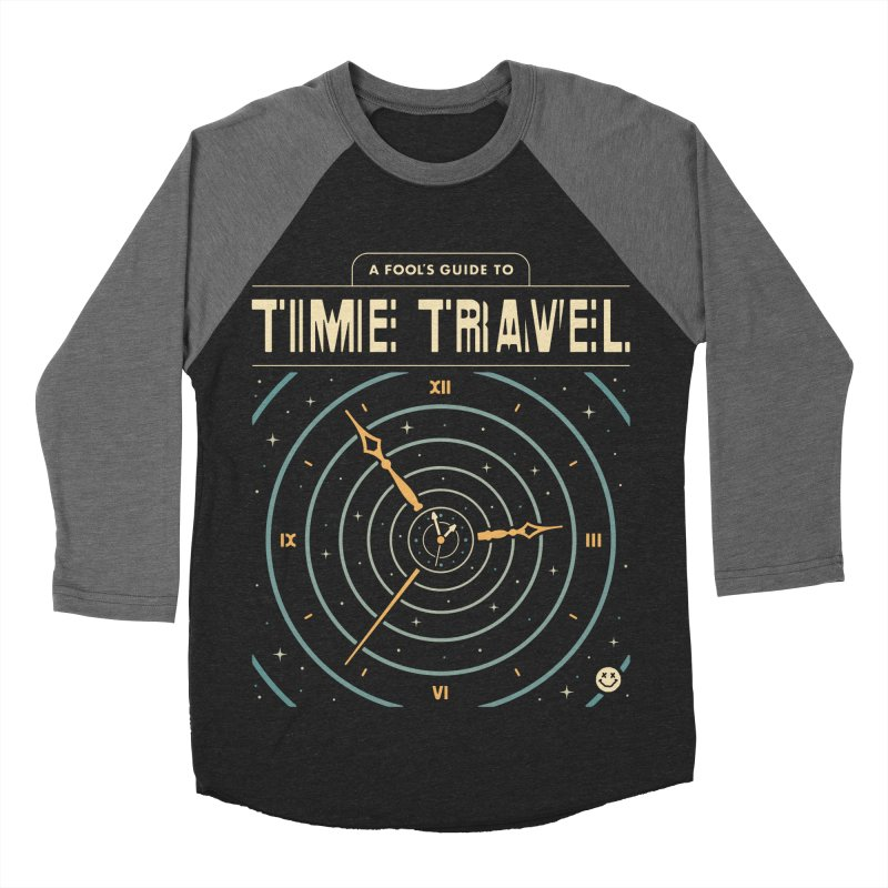 A Fool's Guide to Time Travel Men's Baseball Triblend Longsleeve T-Shirt by csw