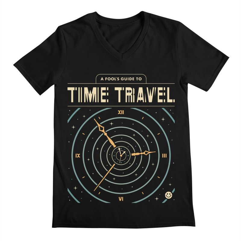 A Fool's Guide to Time Travel Men's V-Neck by Cody Weiler