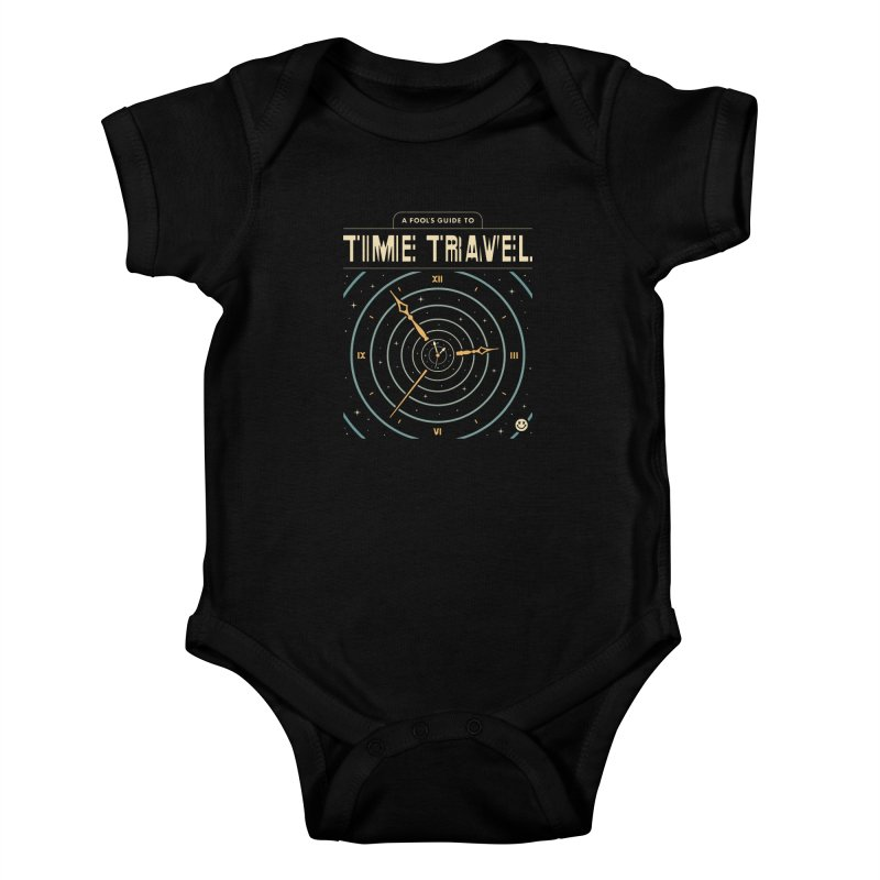 A Fool's Guide to Time Travel Kids Baby Bodysuit by csw