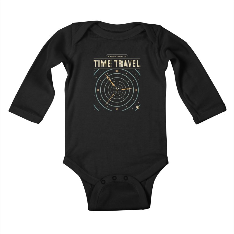 A Fool's Guide to Time Travel Kids Baby Longsleeve Bodysuit by csw