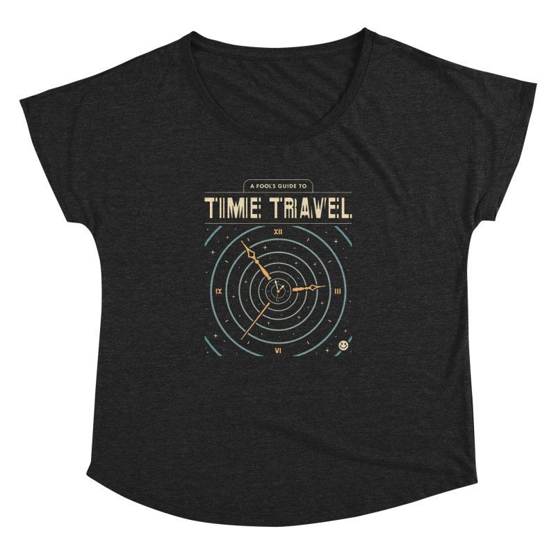 A Fool's Guide to Time Travel Women's Dolman Scoop Neck by csw