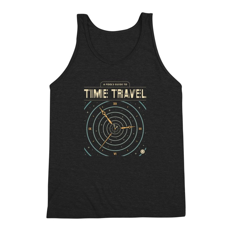 A Fool's Guide to Time Travel Men's Triblend Tank by csw