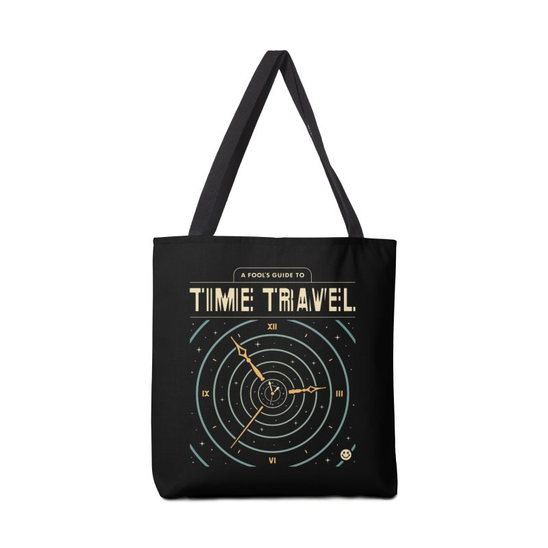 A Fool's Guide to Time Travel Accessories Bag by csw