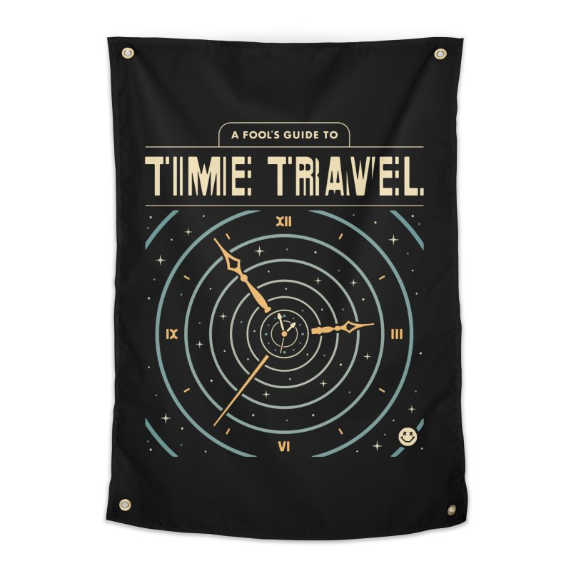 A Fool's Guide to Time Travel Home Tapestry by csw