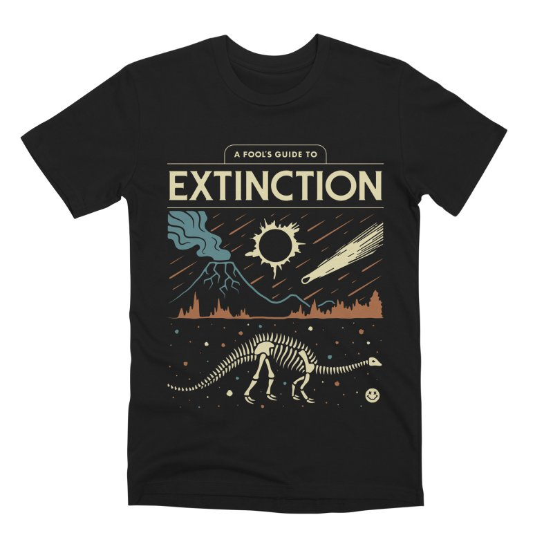 A Fool's Guide to Extinction Men's Premium T-Shirt by csw
