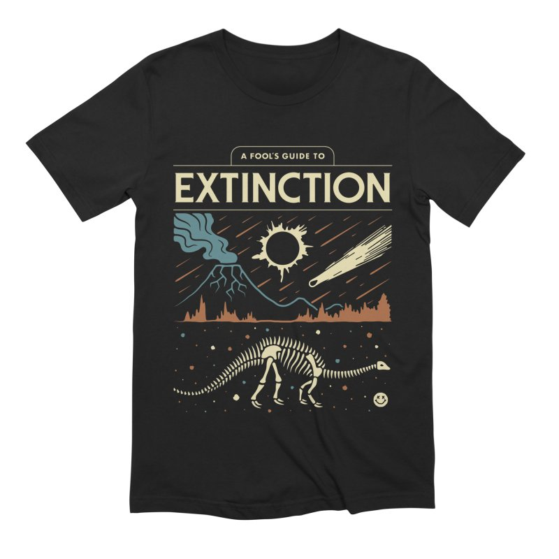 A Fool's Guide to Extinction Men's Extra Soft T-Shirt by csw
