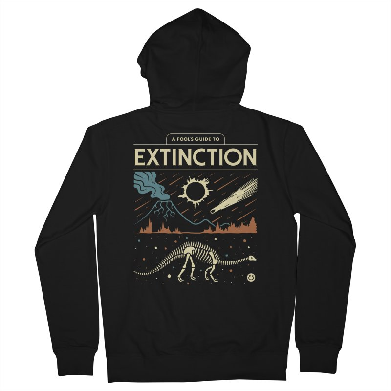 A Fool's Guide to Extinction Women's Zip-Up Hoody by Cody Weiler