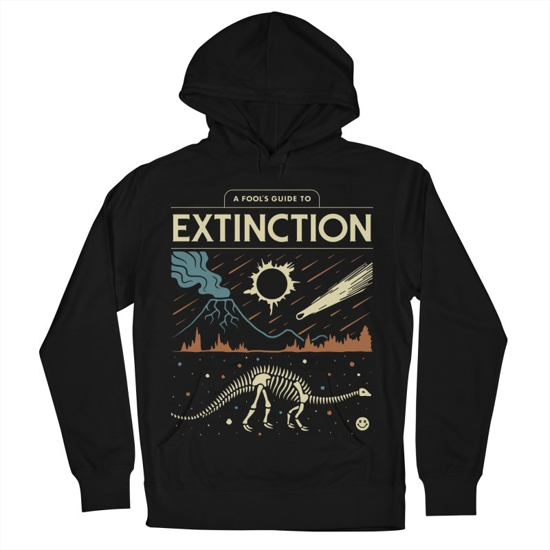 A Fool's Guide to Extinction Men's French Terry Pullover Hoody by Cody Weiler