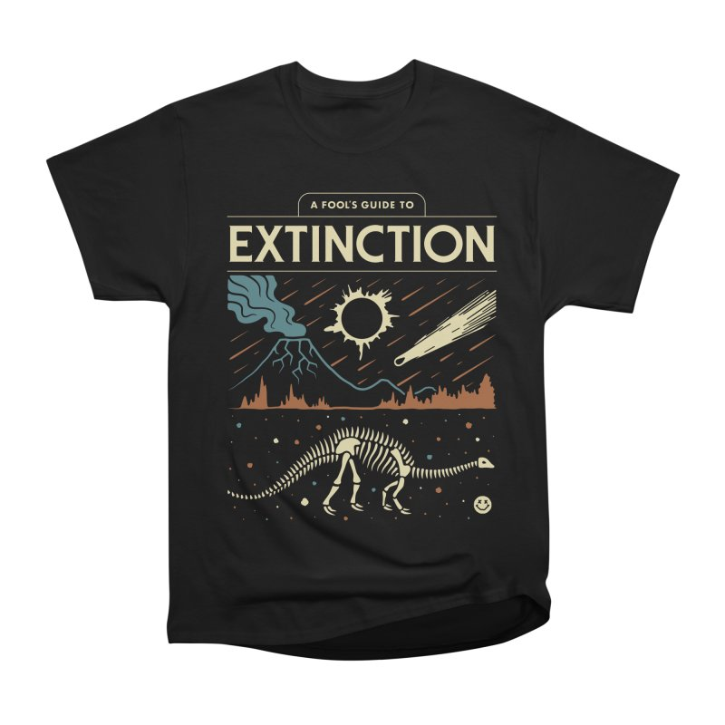 A Fool's Guide to Extinction Men's Heavyweight T-Shirt by csw