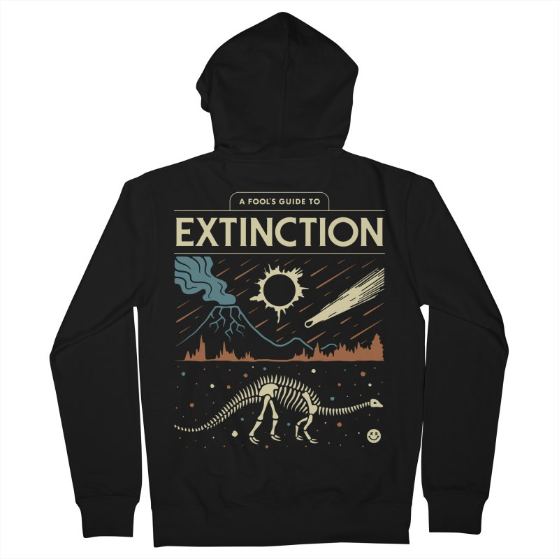 A Fool's Guide to Extinction Men's French Terry Zip-Up Hoody by csw