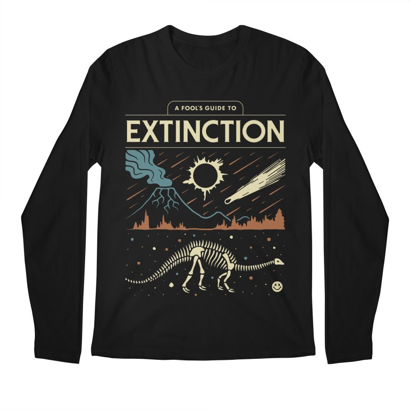 A Fool's Guide to Extinction Men's Regular Longsleeve T-Shirt by csw