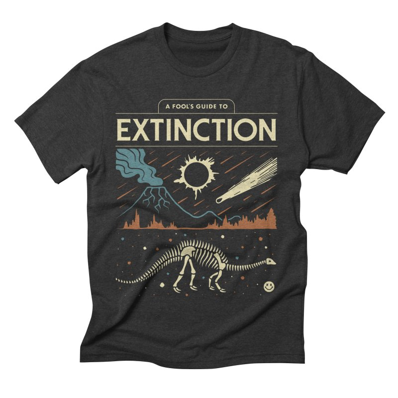 A Fool's Guide to Extinction Men's Triblend T-Shirt by csw