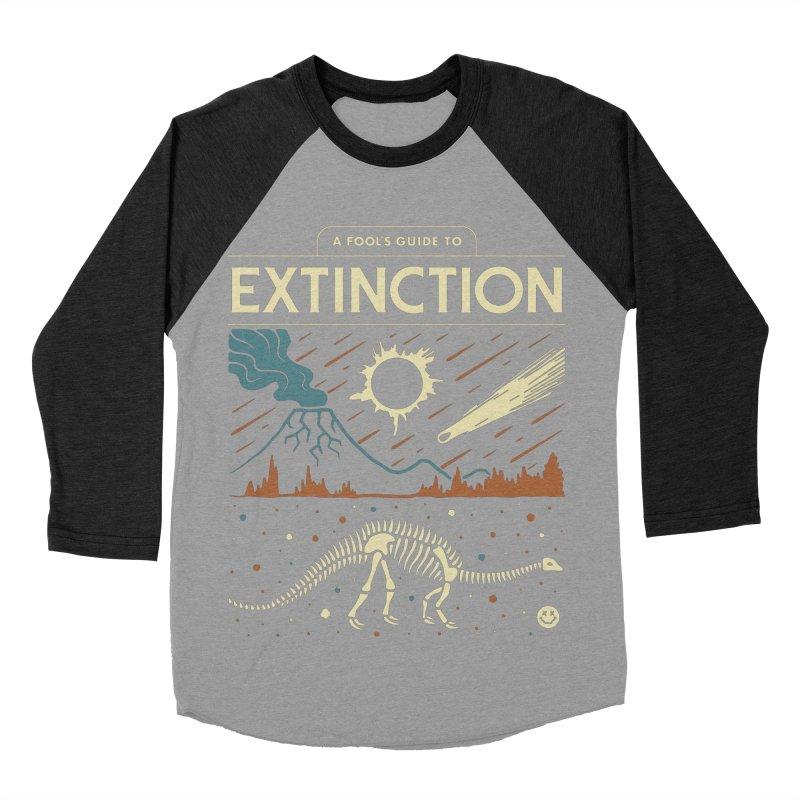 A Fool's Guide to Extinction Women's Baseball Triblend Longsleeve T-Shirt by Cody Weiler