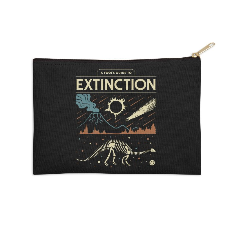 A Fool's Guide to Extinction Accessories Zip Pouch by csw
