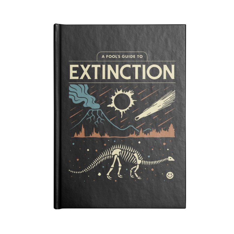A Fool's Guide to Extinction Accessories Notebook by csw