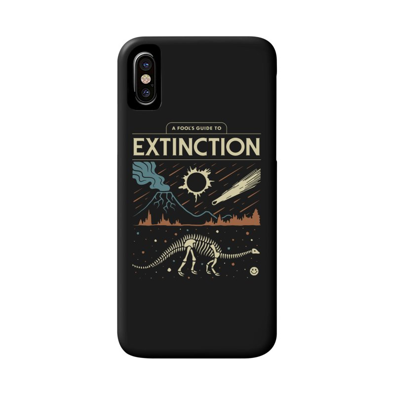 A Fool's Guide to Extinction Accessories Phone Case by csw
