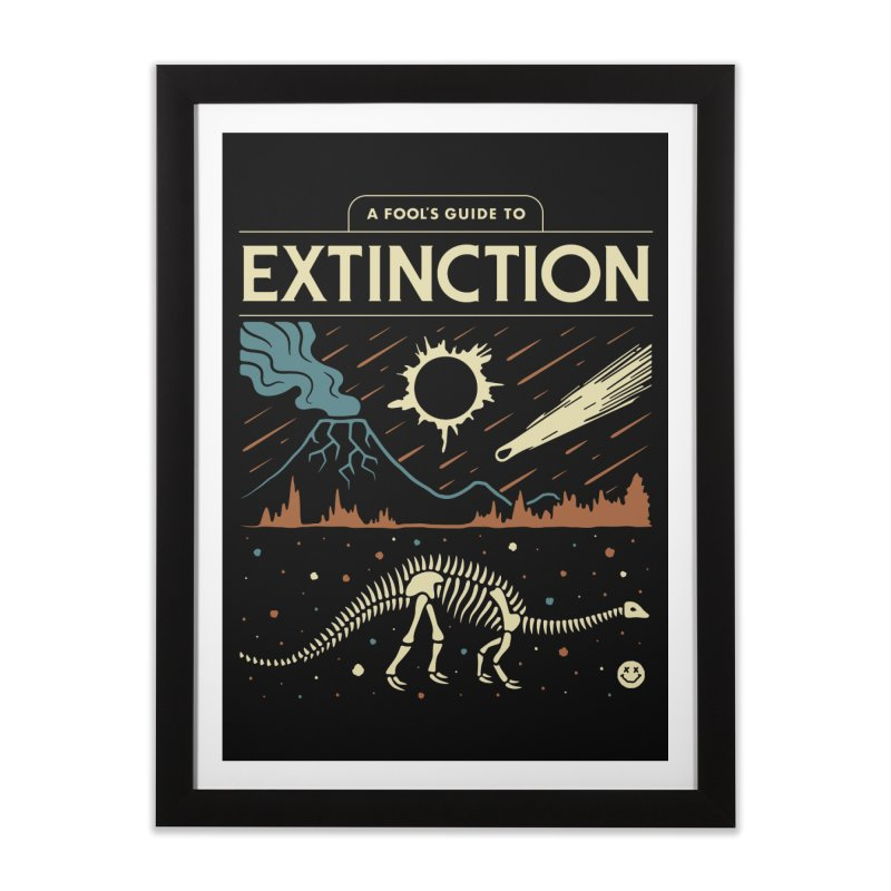 A Fool's Guide to Extinction Home Framed Fine Art Print by csw