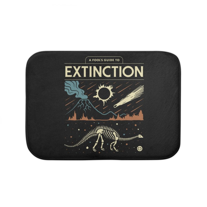 A Fool's Guide to Extinction Home Bath Mat by csw