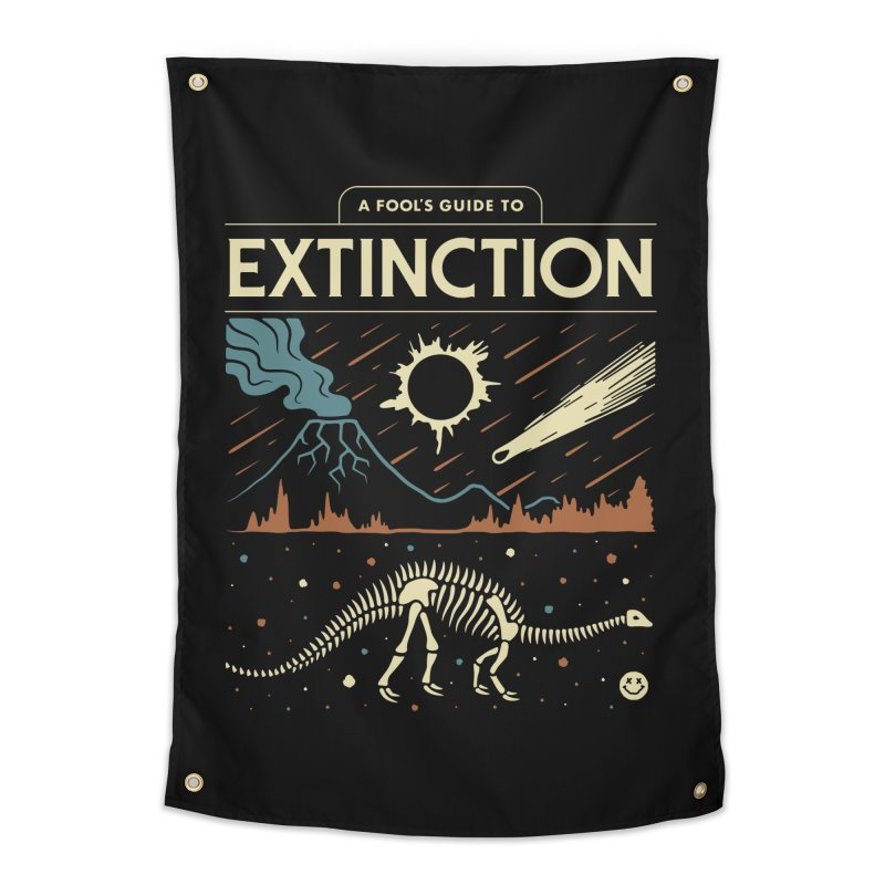 A Fool's Guide to Extinction Home Tapestry by csw