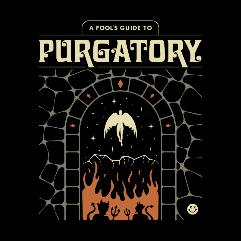 A Fool's Guide to Purgatory Kids Longsleeve T-Shirt by Cody Weiler