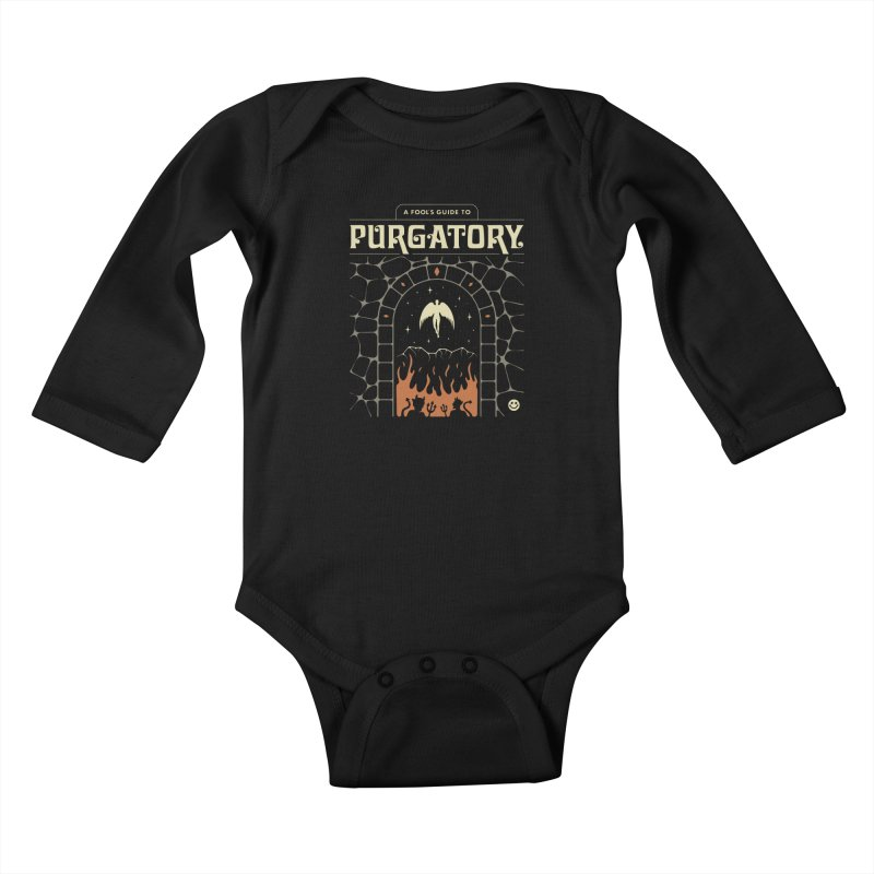 A Fool's Guide to Purgatory Kids Baby Longsleeve Bodysuit by csw
