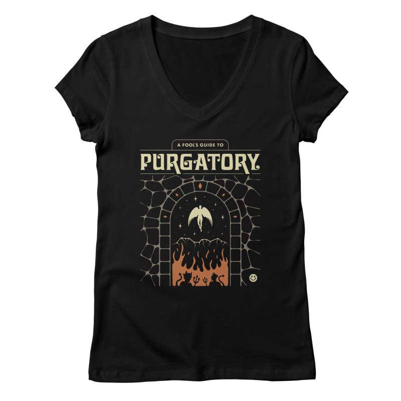 A Fool's Guide to Purgatory Women's V-Neck by Cody Weiler