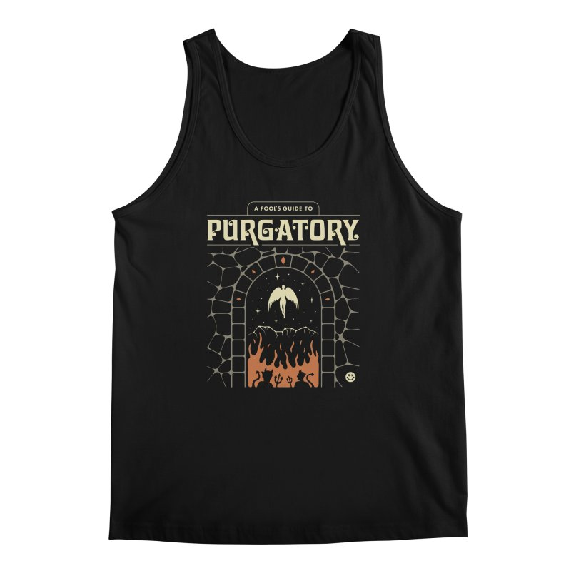 A Fool's Guide to Purgatory Men's Regular Tank by csw