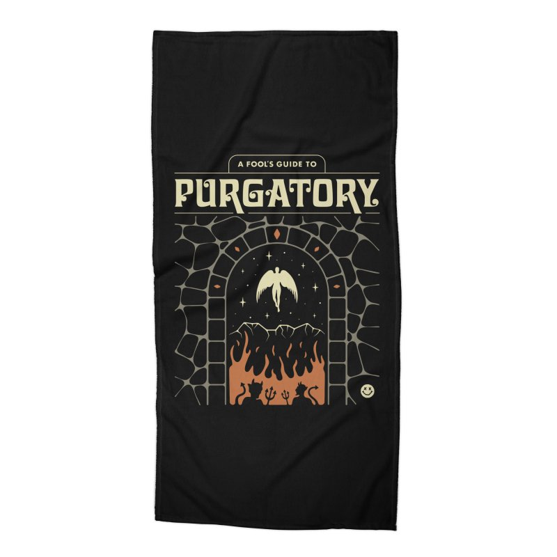 A Fool's Guide to Purgatory Accessories Beach Towel by csw